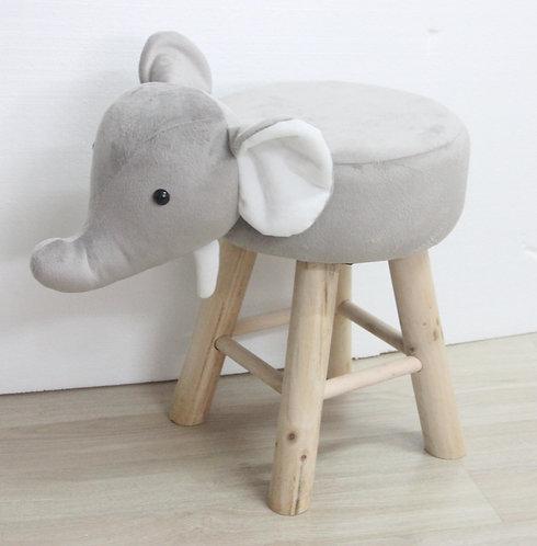52CM ELEPHANT FOOTSTOOL