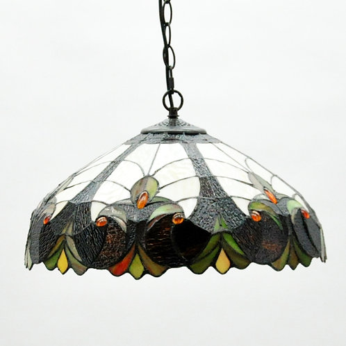 "18"" DOWN LIGHTER SHADE TIFFANY LAMP"