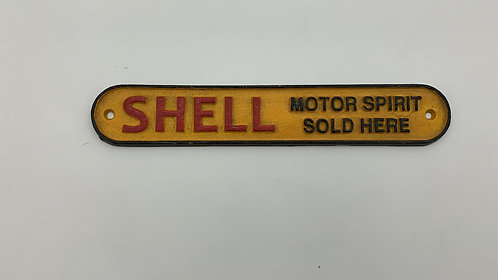 28X5CM SHELL SIGN