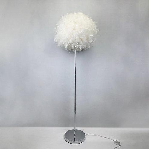 150CM WHITE STANDARD LAMP