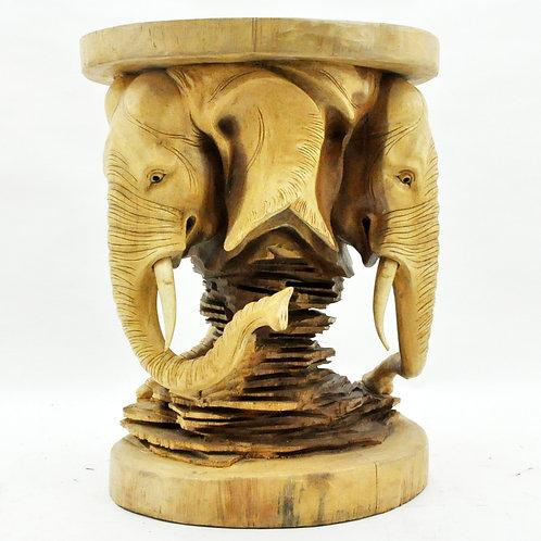 80CM ELEPHANT HEAD TABLE