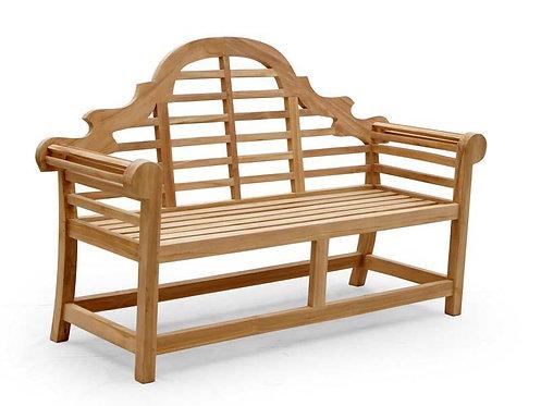 KD 138CM KD 2 SEAT LUTYEN BENCH