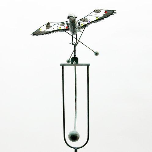 "53"" BIRD GARDEN SPINNER"