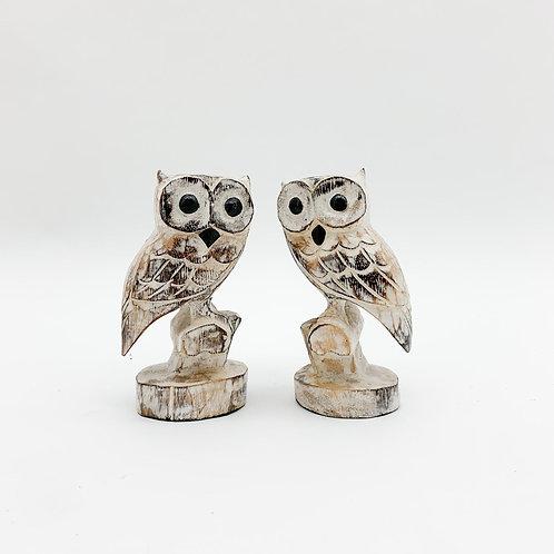 15CM SET 2 OWLS