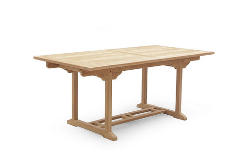 300CM RECTANGULAR DOUBLE EXTENSION TABLE