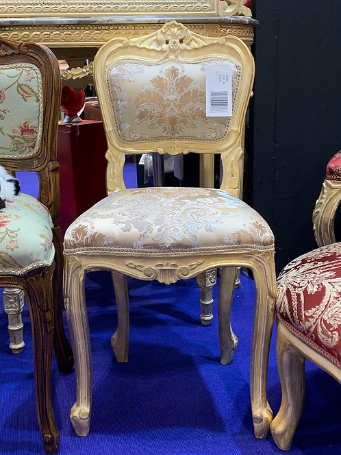 ANTIQUE GOLD BEDROOM CHAIR