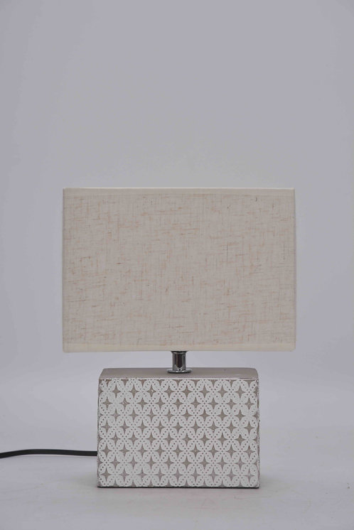 27CM OBLONG CEMENT LAMP