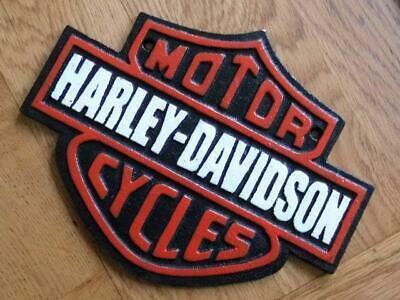34 X 27CM HARLEY DAVIDSON SIGN