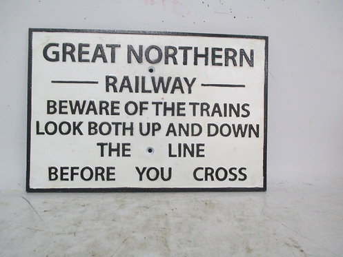 30X20CM GREAT NORTHERN SIGN