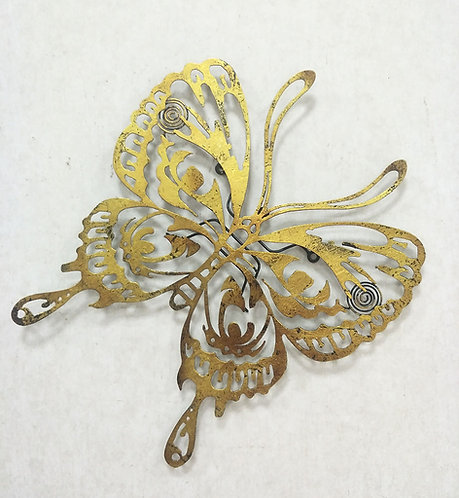 21 INCH BUTTERFLY WALL DECOR