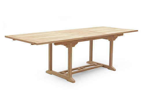 240CM RECTANGULAR  EXTENDING TABLE