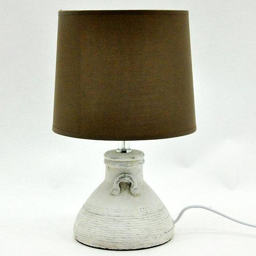 LAMP AND SHADE 22cm
