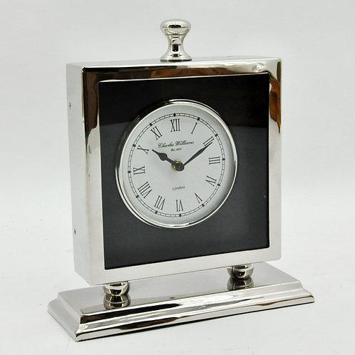 TWO TONE FINISH TABLE CLOCK 36x30x5cm