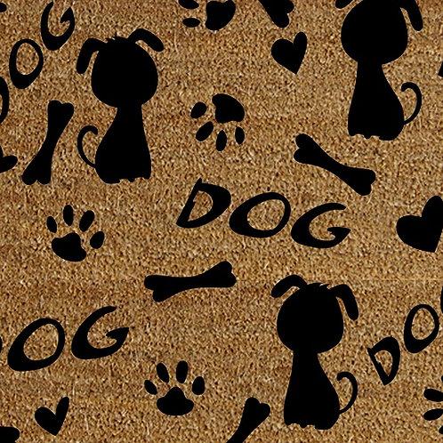 40 X 60 DOGS DOORMAT