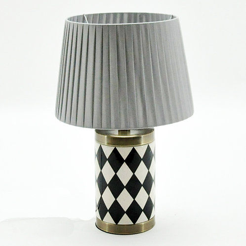 38CM LAMP AND SHADE