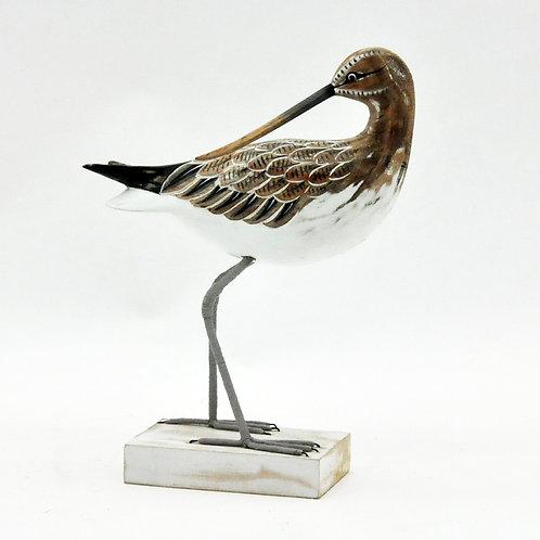 CURLEW BIRD 32x24x8cm