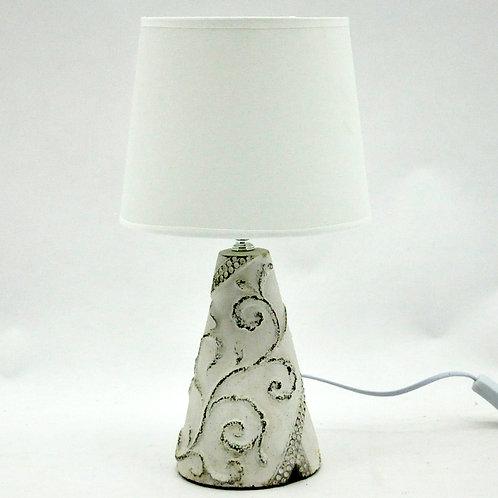 LAMP AND SHADE 28cm