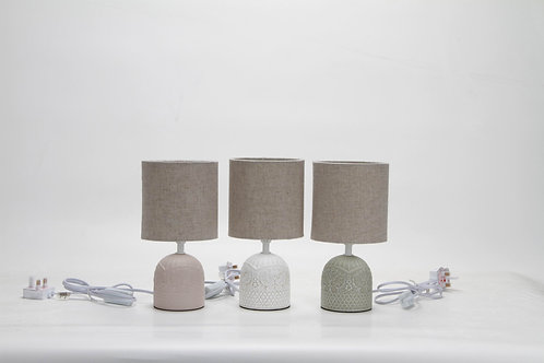 PACK 12 ASSORTED LAMP AND SHADE