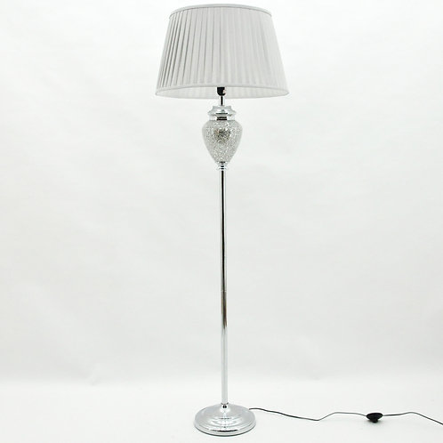165x50x50CM CRACKLE GLASS LAMP AND SHADE