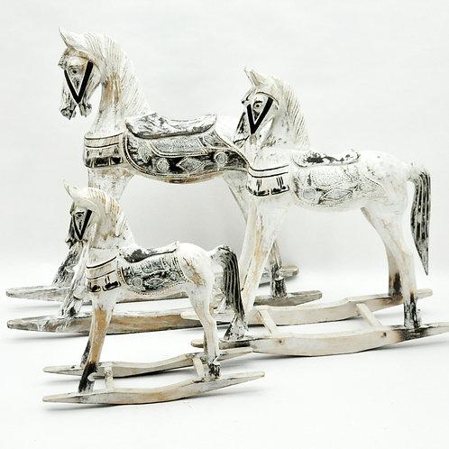 1M/80CM/60CM SET 3 ROCKING HORSE