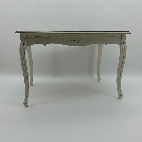 120CM NATURAL OCCASIONAL TABLE