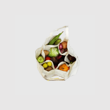 Canvas Vegetable Bag