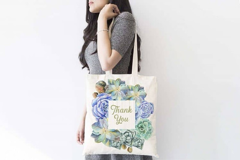 Famous Your Brand With Printed Cotton Bag