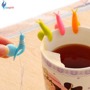 Escargot support de sac de thé