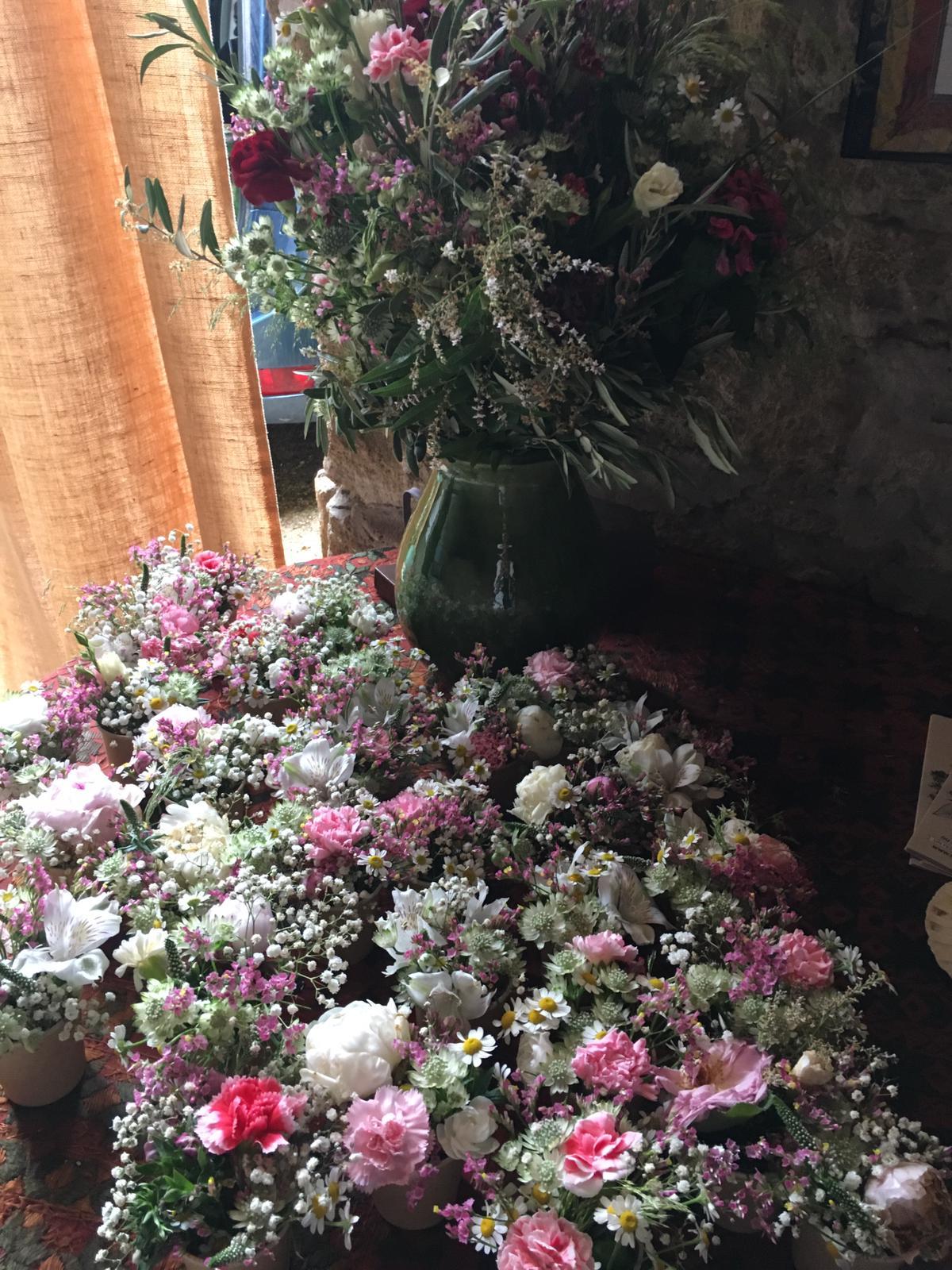 les bouquets de Blandine Viry