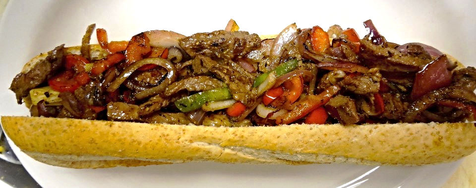 Steak Fajita Sandwich