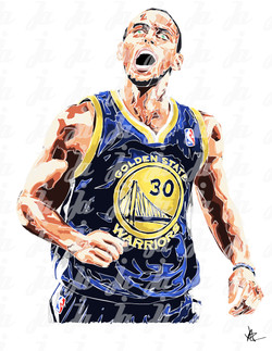 Stephen curry poster design