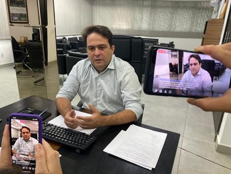 Prefeito Roberto reafirma importância do isolamento social e diz que se preciso irá fechar parques