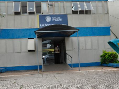 Câmara de Anápolis será sanitizada após servidora pegar Covid-19