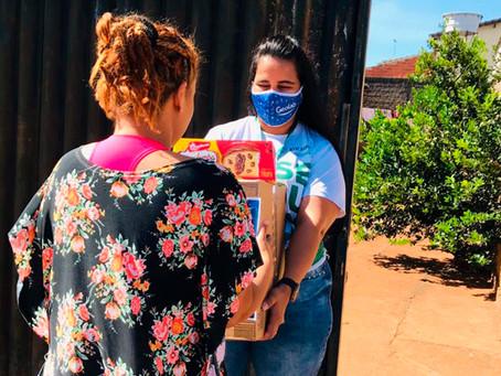 Geolab doa 7 toneladas de alimentos para atingidos pela crise