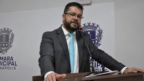 Vereador Leandro Ribeiro manifesta apoio a Alexandre Baldy