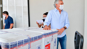 Goiás recebe mais 77,8 mil doses da vacina Coronavac