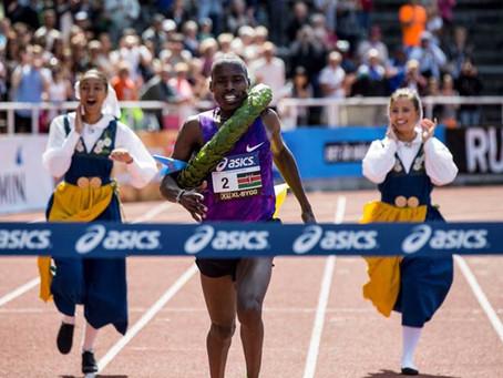 Atleta do Quênia vai disputar a Minimaratona 31 de Julho