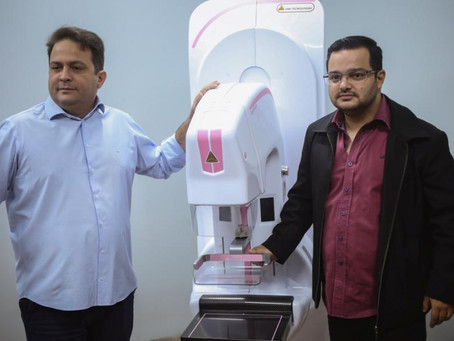 Mamógrafo digital inaugurado na Unidade de Saúde da Mulher tem capacidade para 300 exames por dia