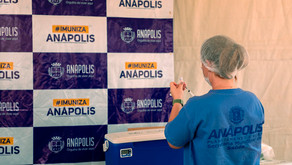 Vacinação em Anápolis passa a ser feita somente para segunda dose