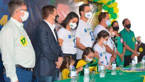 PSL de Valeriano Abreu apresenta novo vice durante convenção
