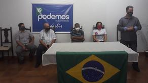 Veja os 32 candidatos a vereador do Podemos em Anápolis