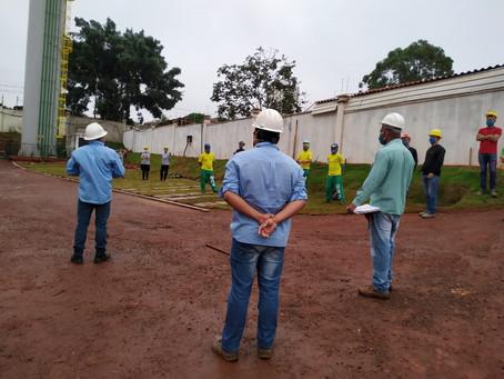 Construção civil volta às atividades com novas medidas de segurança para o trabalhador