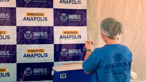 Prefeitura de Anápolis começa a vacinar idosos entre 70 e 73 anos