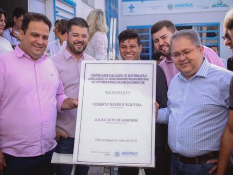 Inaugurado em Anápolis Centro Especializado de Distribuição de insumos e medicamentos