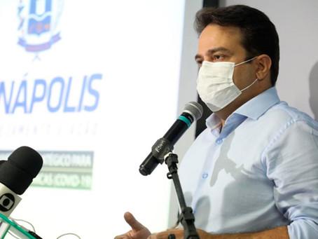 Prefeito Roberto Naves anuncia fim de decreto estadual 14x14 em Anápolis