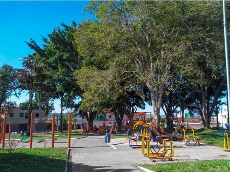 Academias de ginástica de parques e praças serão fechadas em Anápolis