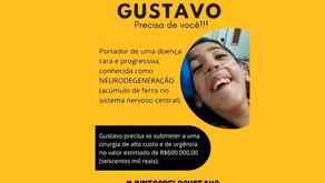 Campanha arrecada dinheiro para mudar a vida do garoto Gustavo