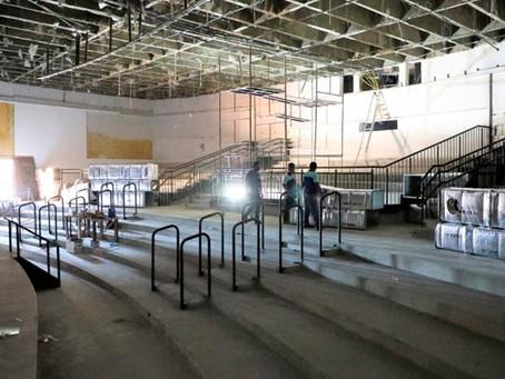 Reforma do Teatro Municipal de Anápolis fica pronta em 2 meses