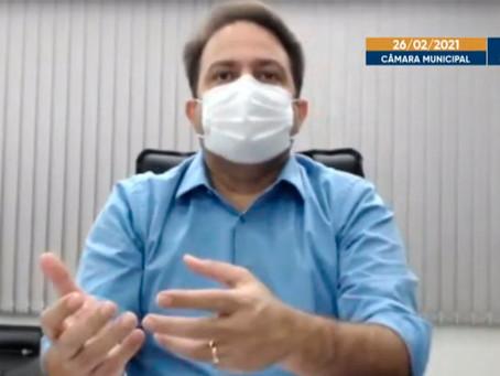 """Prefeito de Anápolis faz discurso contundente: """"a situação é crítica"""""""
