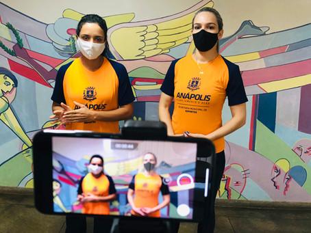 Secretaria de Esportes ensina exercícios físicos via internet